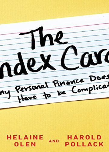The Index Card—Why Personal Finance Doesn't Have to be Complicated